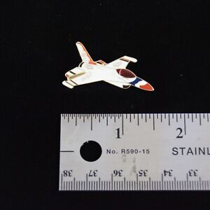 US Air Force Thunderbirds F-16 Fighting Falcon Side View Hat Pin