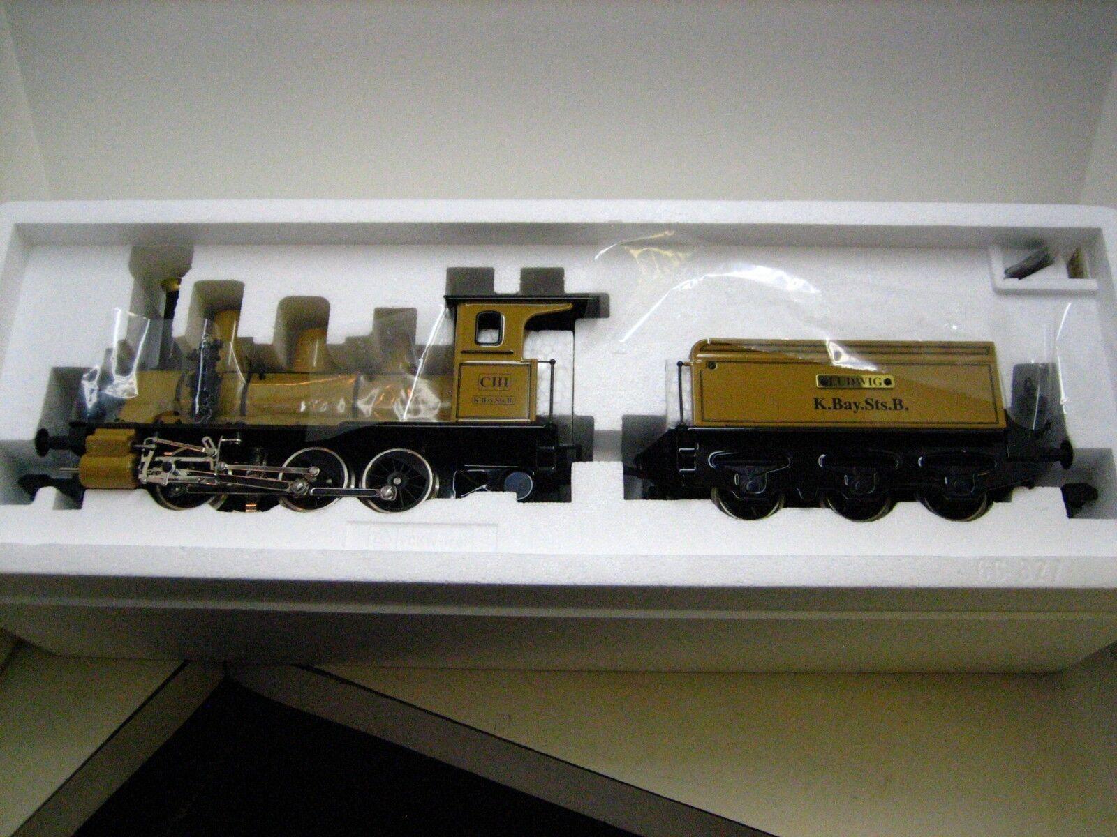 Marklin Maxi or 1 Gauge K. K. K. Bay. Stat  Bavarian Tender Locomotive MIB b055c1