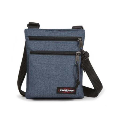 Eastpak Rusher Shoulder Bag Double Denim Eastpak Men/'s Accessories Bags