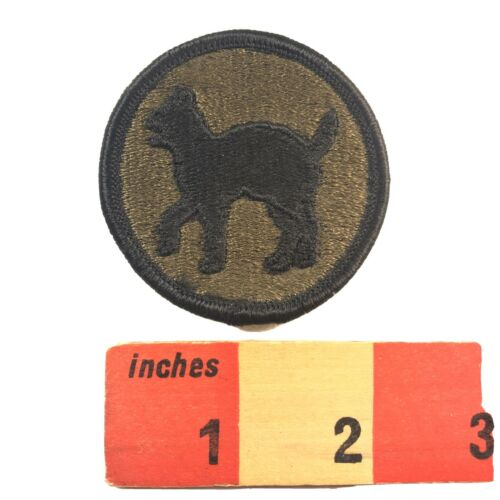 Vtg Subdued BLACK CAT Patch Army 00WG