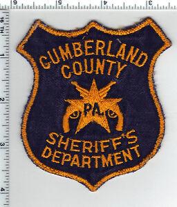 Cumberland County Sheriff (Pennsylvania) Uniform Take-Off Shoulder Patch 1980's