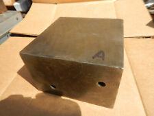 Older Taft Peirce Box Parallel Lot A 4x6x6 Machinist Tool Jig Fixture Setup