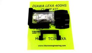 TIBURON UNIVERSAL REEL CLAMP KIT SHIMANO TRANX TRINIDAD LEXA 400HS NEWELL