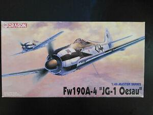 Focke-Wulf-Fw-190-A-4-034-JG-1-Oesau-034-Dragon-Scale-1-48-Kit-5524-Super
