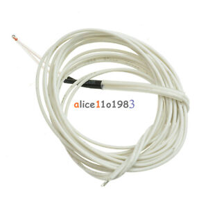 5pcs Reprap NTC 3950 Thermistor 100 K 1 M Cable for 3d Printer Bed HOT-END