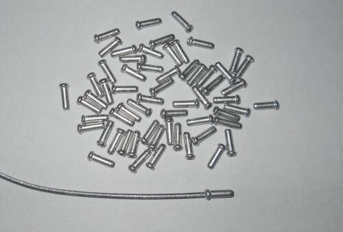 500 embouts de cable a sertir alu pour cable 20//10 éme maxi vélo cyclo moto