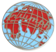 Triumph World Globe lapel pin