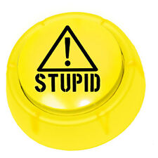 The Stupid Alert Button, Funny Sound Button Gag Gift