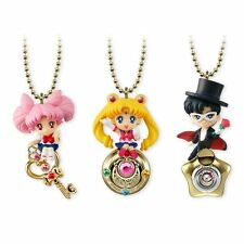 Sailor Moon Twinkle Dolly Special 3 Figure Set NEW Anime Charms Tuxedo Chibi