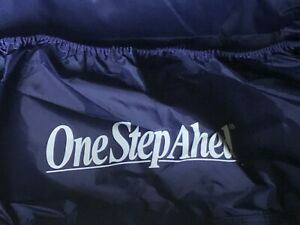 One-Step-Ahead-Thick-Nylon-Bed-Cover-for-Tuck-Me-In-Inflatable-Beds-Navy-Blue
