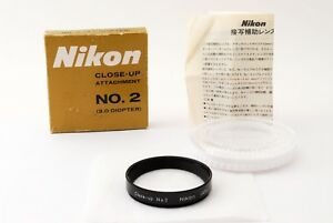 Exc-in-Box-Genuine-Nikon-Close-up-No-2-52mm-MACRO-Lens-Filter-from-JAPAN