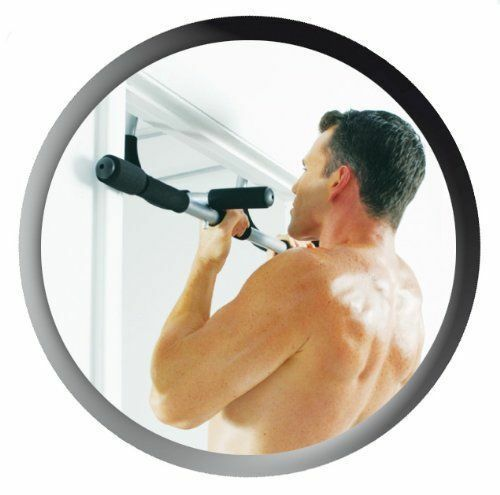 CHIN UPS SIT UP PULL UPS UPPER BODY TRAINER 4 X EXERCISE BAR // DOOR BAR