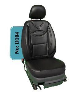 Sitzbezüge schwarz vorne HER VW TIGUAN