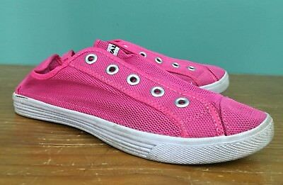 Lightweight Driving A Roaring Trade Humble Airwalk Men's Bright Pink Laceless Mesh Sneaker Shoes Size 9.5