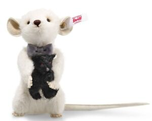 Steiff-Peky-Mouse-with-Teddy-Bear-limited-edition-collectable-006852-BNIB