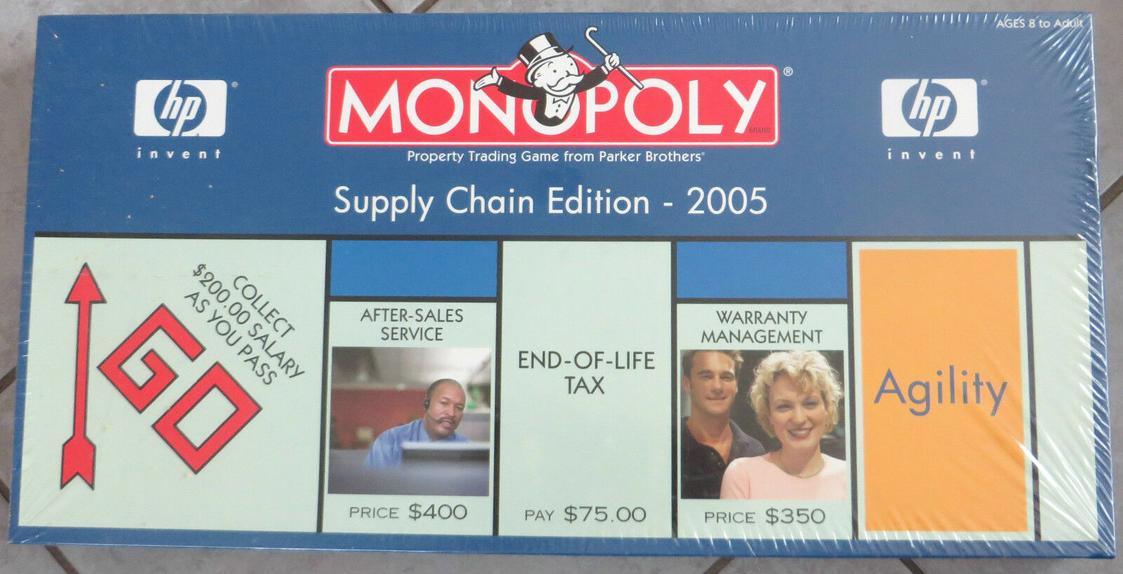 HAMMERGENIAL, da NEU & OVP  MONOPOLY HP Supply Chain Edition 2005  USAopoly