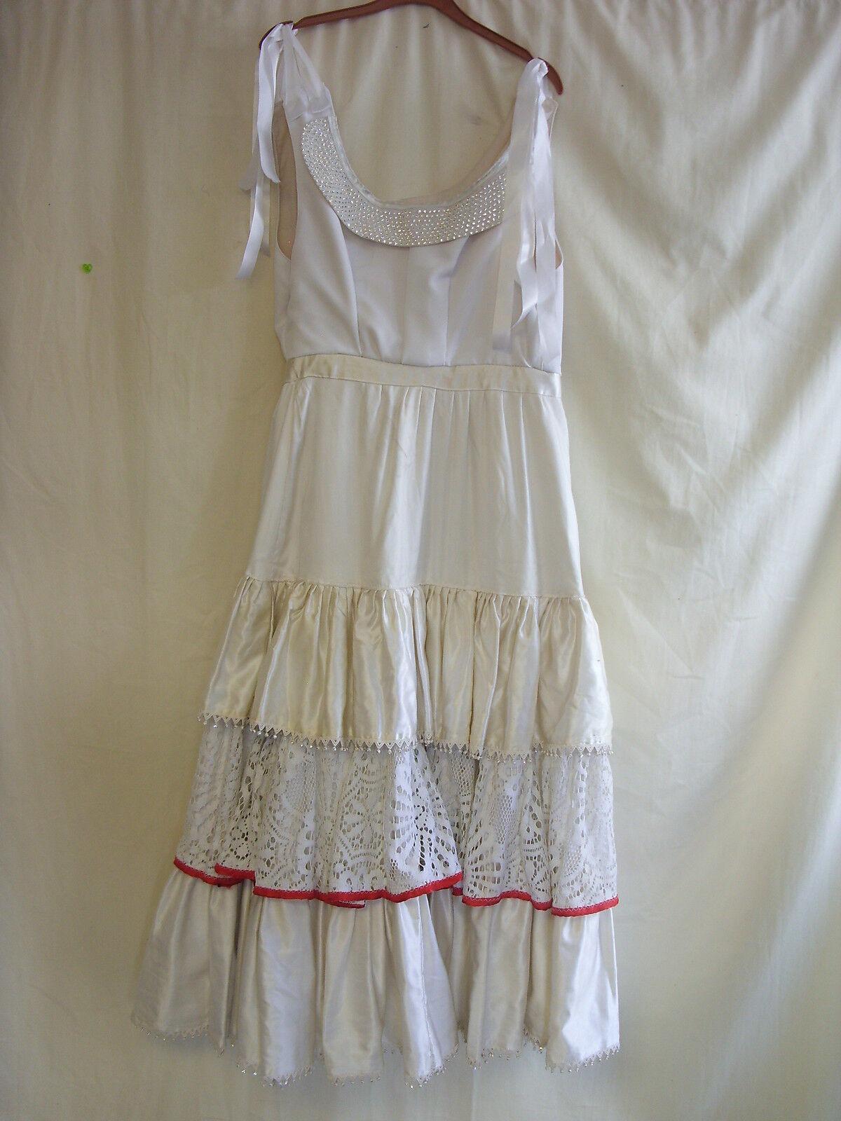 Womens Fancy Dress - Wedding, theatre, drama, princess, royalty, cream - 2484