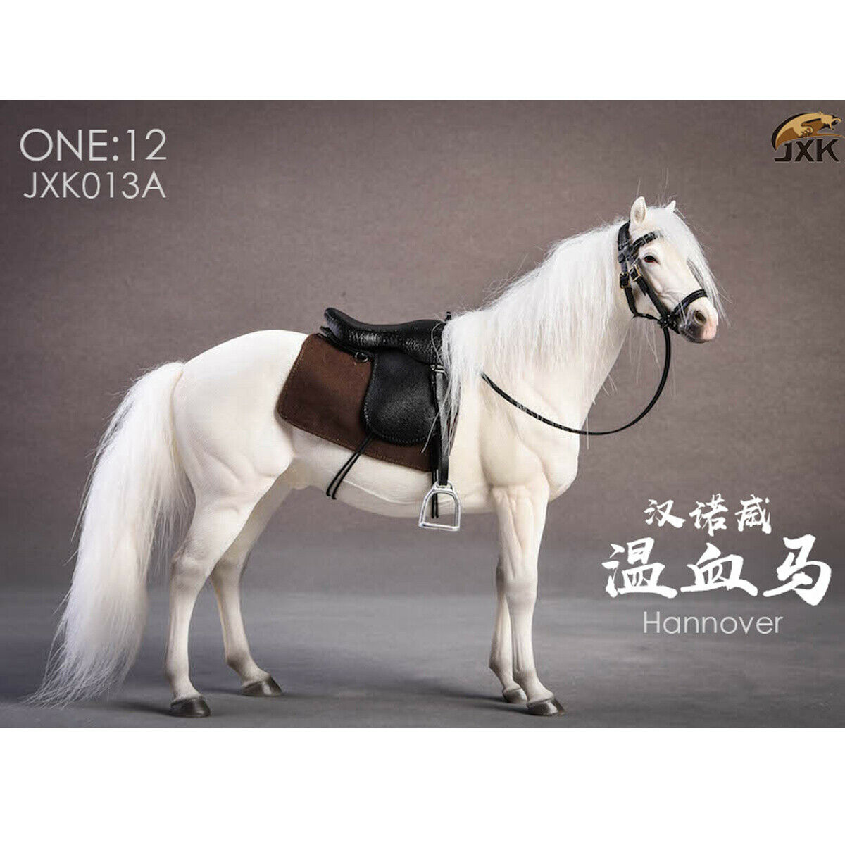 JXK Studio JXK013A 1 12 Scale Germany Hannover Animal Hanoverian Horse Model
