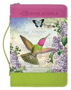 Always-Believe-Hummingbird-Bible-Cover-Medium