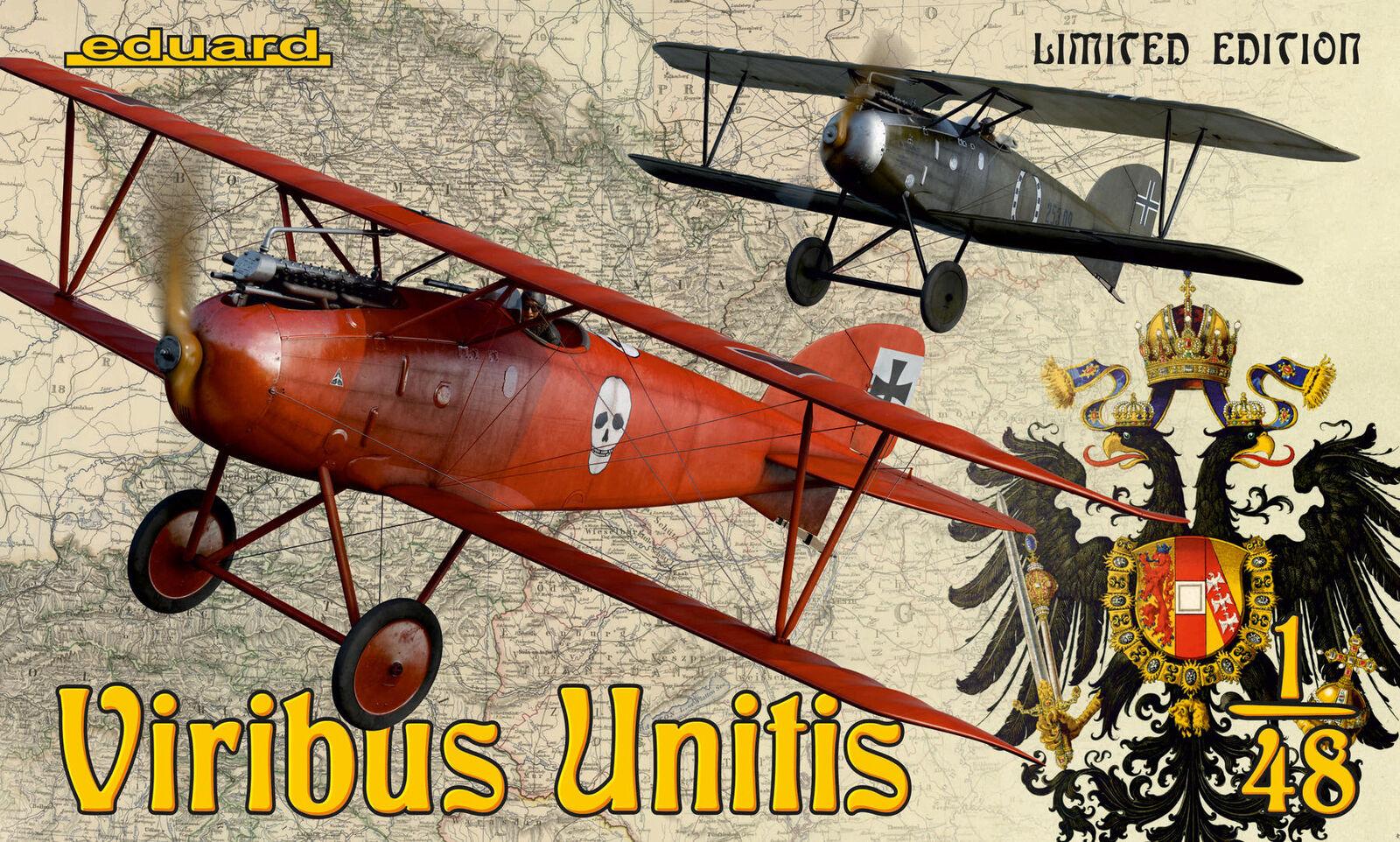 Eduard 1 48 Viribus Unitis Limited Edition Dual Combo K11124