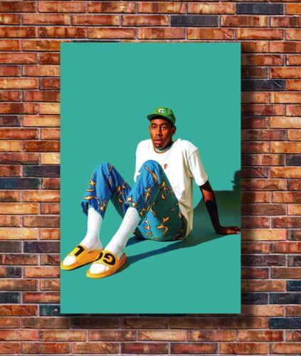 Tyler The Creator Odd Future Custom Singer Star Silk Art Poster C-3221 40x27