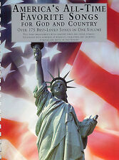 America's All-Time Favorite Songs God and Country Spirituals Piano Music Book