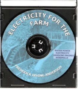 ELECTRICITY-FOR-THE-FARM-Water-Power-Windmills-CD
