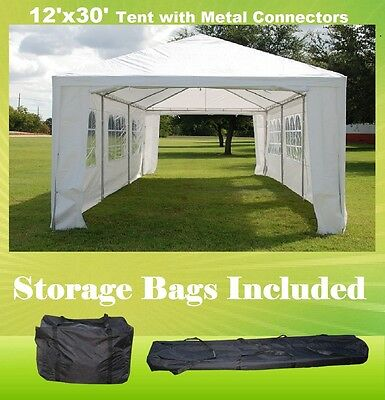 SAVE $$$ 10/'x30/' Party Wedding Tent Gazebo Pavilion Catering with Storage Bag