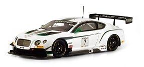 Bentley Gt3  7 Blancpain  Gt Winner Paul Rivoitured 2014 1 43 Model  mode