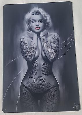 marilyn monroe ballerina Vintage Art reprint metal retro sign vintage sign tin