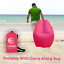 thumbnail 15 - Inflatable Air Lounge Air Sofa Portable With Removable Sun Shade - Waterproof