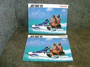NOS Kawasaki Factory Brochure 1992 JS650 B2 Jet Ski SX