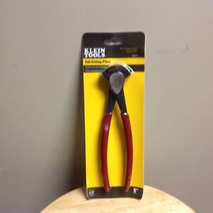 NEW-Klein-Tools-D232-8-8-034-End-Cutting-Pliers