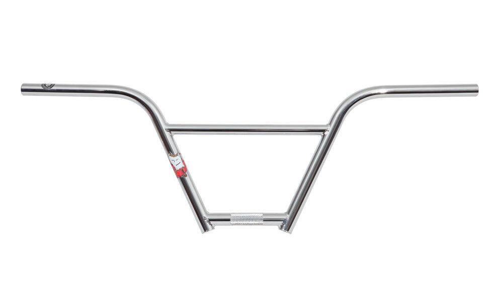 S&M Fu-bar 4-piece Handlebars 8  - Chrome  - BMX Bars - USA Made  authentic quality