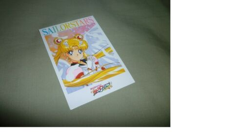 Sailor moon CARD OFFICIAL JAPAN LD MEMORIAL SEAL CLUB CORIS PICKCHOICE PRISM