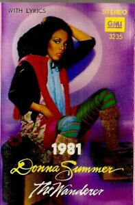 Donna-Summer-The-Wanderer-Import-Cassette-Tape