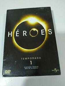 Heroes-Primera-Temporada-1-7-x-DVD-Espanol-ingles