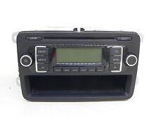 VW GOLF TOURAN PASSAT RADIO CAR AUDIO AUTORADIO MP3 RCD210 1K0035156B