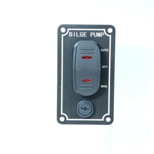 Schalter für Bilgenpumpe Bilgenschalter wassergeschützt Boot Camping