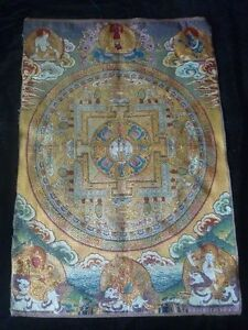 Exquisite-Tibet-silk-embroidery-class-guanyin-Buddha-thangka