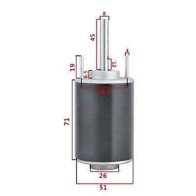 new 1PC High Speed Adjustable DIY DC 12V//24V Marshmallows Machine Motor