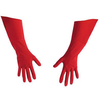 Captain America Movie Deluxe CHILD Gloves Marvel Comics - Red - 18344