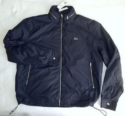 billigste pris bedste salg billig pris Mens Lacoste Rain Jacket Windbreaker Zip-up Hoodie size 50 BNWT Authentic    eBay