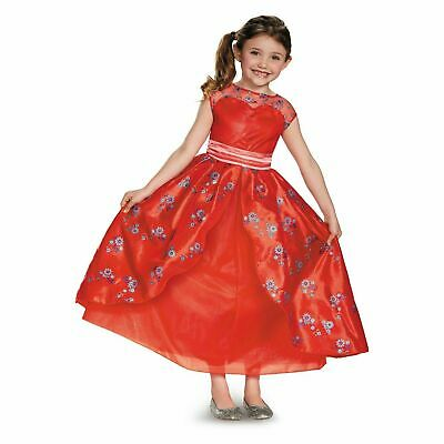 NWT Disney Store Princess Elena of Avalor Deluxe Nightgown Costume gown Girls