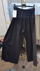 54 Carleoni 100 casual eleganti Lovely taglia nero Ladies eur lino pantaloni in Bnwt PZUTqRwP
