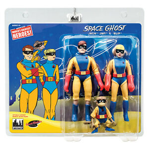 Space-Ghost-Series-Retro-Style-6-Inch-Action-Figures-Jace-Jan-amp-Blip-Three-Pack
