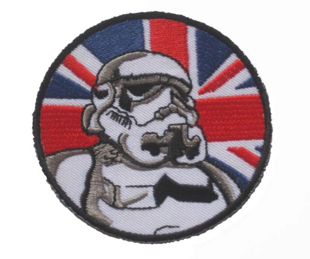STAR WARS IMPERIAL STORMTROOPER embroidered Badge Patch 7.5x7.5 cm 3""