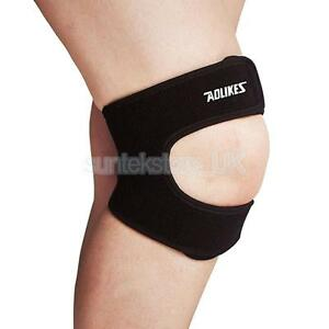 69a73cf15e Free postage. Image is loading Adjust-Padded-Knee-Support-Patella-Brace -Bandage-Tendon-