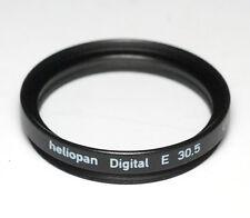 Heliopan UV-Filter E 30,5mm x 0,5 vergütet Slim - Made in Germany (NEU/OVP)