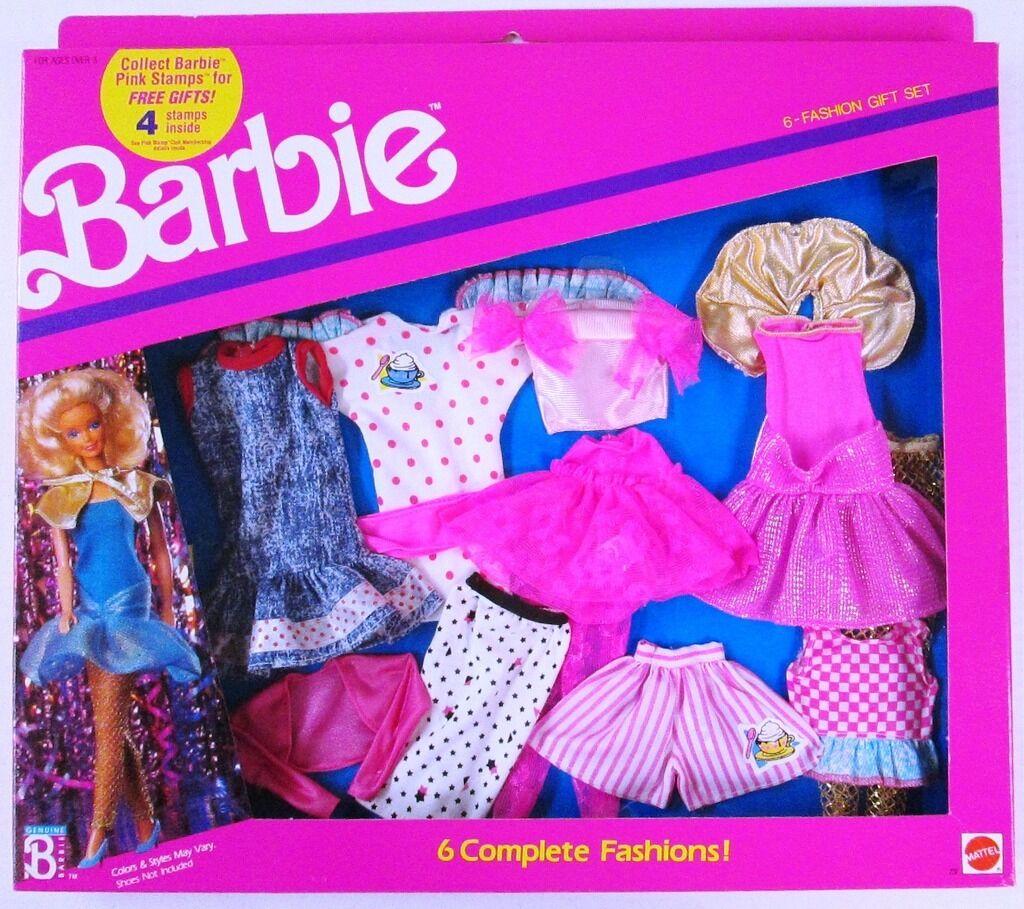 Vestido 4 Y 2 737 6 Moda De Regalo Conjunto Barbie Fiesta